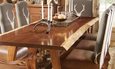 making a dining room table | Make a Statement with Your Dining Table — The Guest Room ...