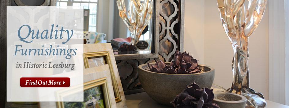 Decorative Accessories  Living Room. Furniture Store Leesburg VA   The Guest Room   Bedroom   Living