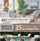Upholstered Furniture Sale – Save 45% Off Suggested Retail!
