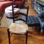 Rush Seat Chairs (2)