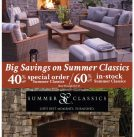 Summer Classics End of the Season Sale! Save 40-60% thru Oct. 31st!