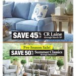 March Into Early Spring Savings on CR Laine and Summer Classics