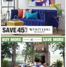 Spring Into April Savings on Wesley Hall and Summer Classics!