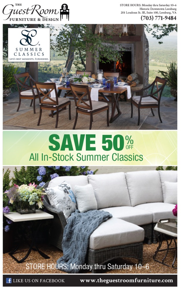 Living Room 50 Off save 50% off all in-stock summer classics! — the guest room furniture