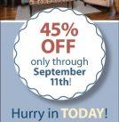 Big Savings on Norwalk Furniture Ends September 11th!
