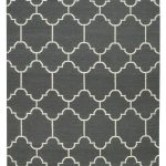 5×8 Grey area rug