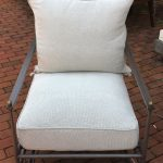 Outdoor Cast Aluminum Spring Chair