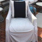 Outdoor Slipcover Swivel Chair