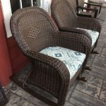 Outdoor Wicker Rockers