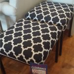 Black & White Ottomans