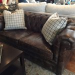 Leather Chesterfield Sofa – REDUCED