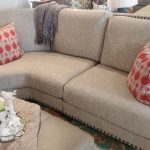 Relaxed Wedge Sofa